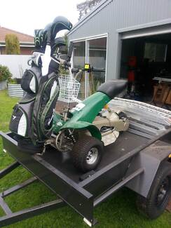 golf buggy,trailer & ramps Nhill Hindmarsh Area Preview