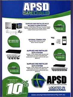 Alarm & cctv specials