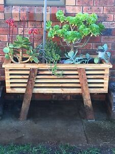 Up Cycled timber planters Devonport Devonport Area Preview