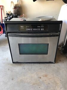 Built in Whirlpool oven