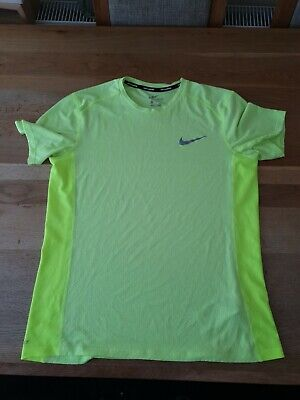 NIKE DRI FIT RUNNING TOP MENS SIZE M GENUINE GOOD CONDITION