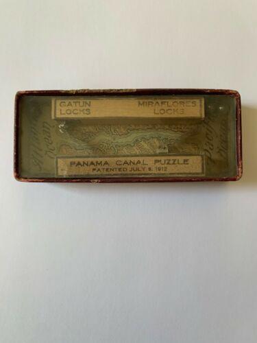 Panama Canal 1912 pinball puzzle