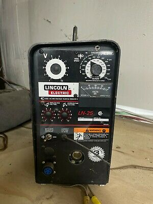 Lincoln Ln-25 Wire Welder. Been Sitting In Storage For Several Year. Never Used.