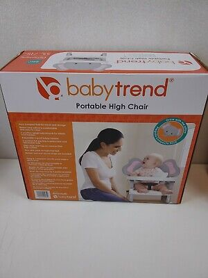 Baby Trend Portable High Chair - Elefantastic ***NEW IN BOX
