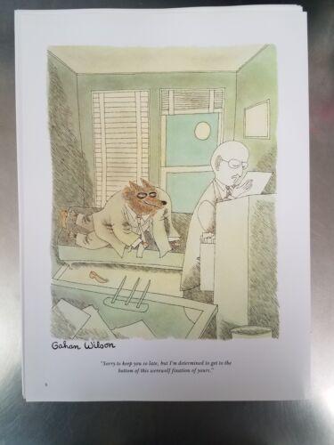 Vintage Dempsey G Wilson Playboy ART From Coffee Table Book Werewolf - $2.99