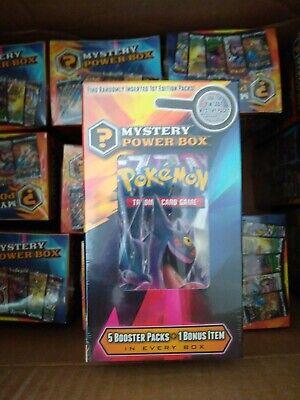Pokemon Walmart (Pokemon Mystery Power Box 2 Walmart 5 Packs SEALED)