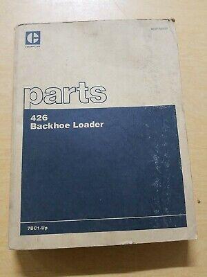 Cat Caterpillar 426 Backhoe Loader Parts Book Manual