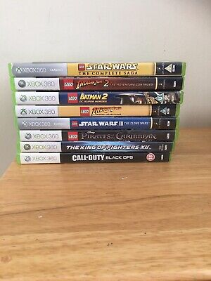 Xbox 360 Games Bundle Including Lego Star Wars And Indiana Jones, Read