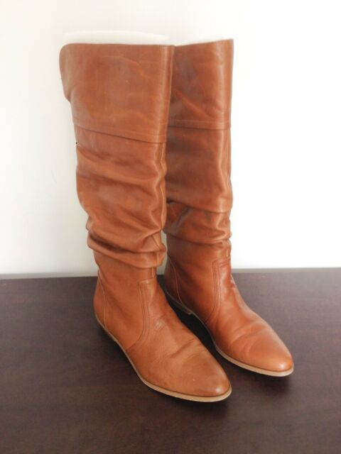 wittner leather womens boots size 38 s shoes