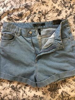 High waisted shorts SIZE 14/medium