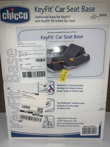 New Chicco KeyFit Car Seat Base for KeyFit and KeyFit 30 Infant Car Seat