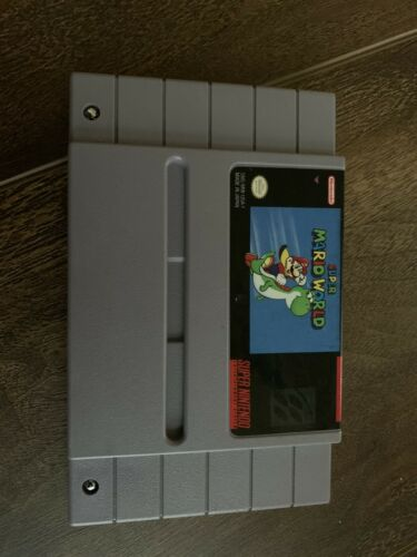 Super Mario World Super Nintendo, 1991  - $16.99