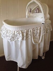 Baby bassinet and boy clothes Margate Redcliffe Area Preview