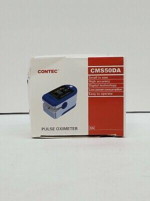 Contec Deluxe Pulse Oximeter Blood Oxygen Level Monitor Cms50da