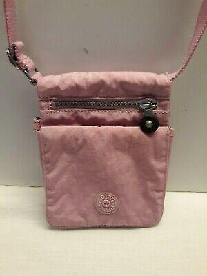 Kipling Pink Eldorado Small Crossbody Bag AC2304 No Monkey
