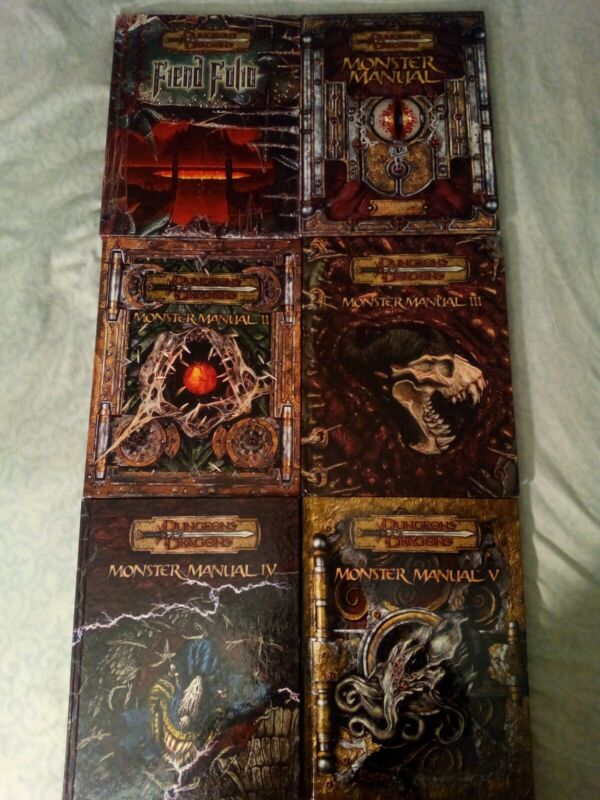 Dungeons and Dragons Monster Manual Collection v.3.5 Fine Condition