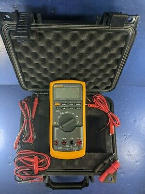 Fluke 87v Trms Multimeter Excellent Screen Protector Case More
