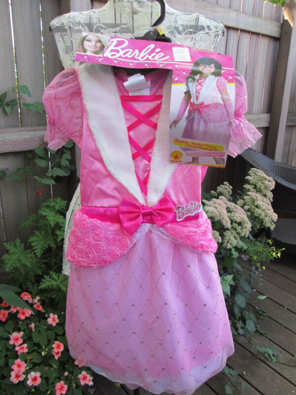 Barbie Rosebud Princess Halloween Costume Girls Size Small 4-6