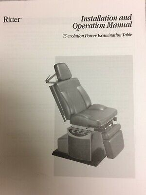 Ritter Evolution 75 Power Exam Tablechair - Used Good Condition