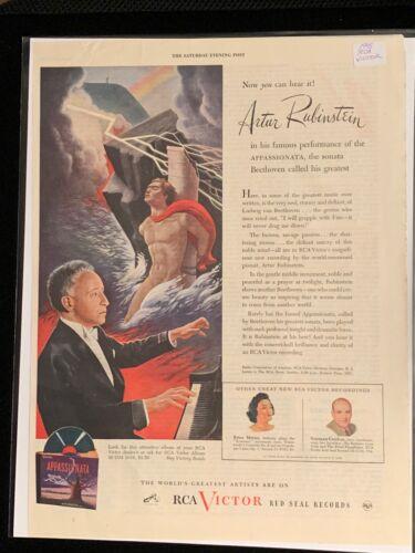 1945 RCA VICTOR Records Advertisement