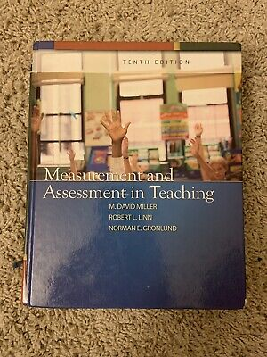 Measurement And Assessment In Teaching Tenth 10th