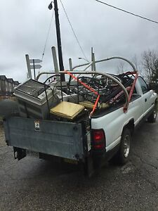 Scrap metal free pick up