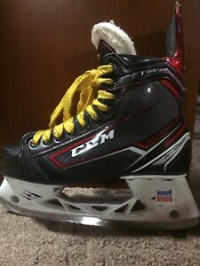 CCM JetSpeed FT380 Junior Ice Hockey Skates 5D