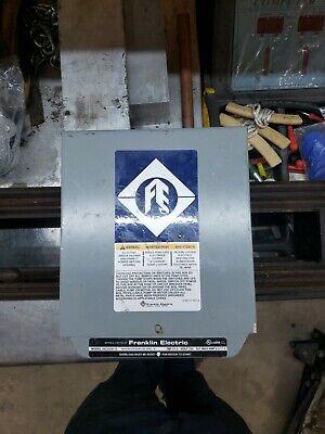 1-12 Hp 230v 1hp Franklin Control Box Submersible Water Pump 2823008110 1.5hp