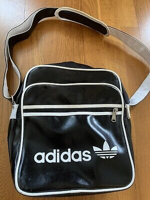 Adidas Black And White Over The Shoulder Bag