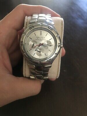nautica mens watch used
