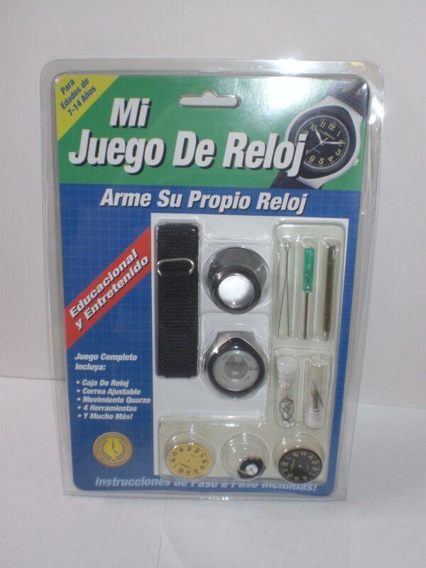 MyWatch DIY Build It Yourself My Watch Kit Build A Watch Set English Espanol Set