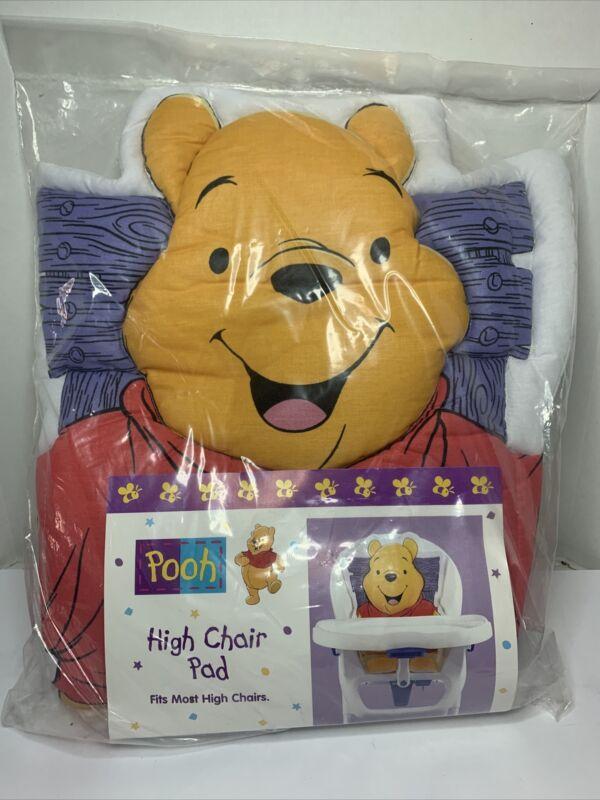 Winnie the pooh high chair pad