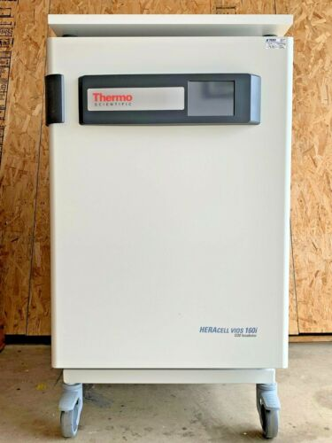 THERMO SCIENTIFIC HERACELL VIOS 160i CO2 INCUBATOR STAINLESS STEEL STACK / ROLLS