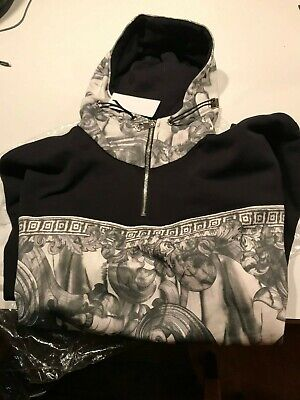 Versace Collection Hooded Sweatshirt  - Size M
