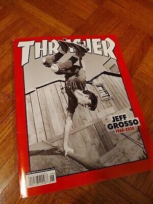 thrasher skateboard magazine june 2020 grosso