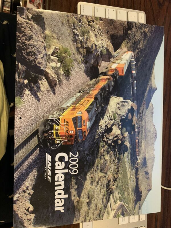2009  BNSF Calendar Burlington Northern SantaFe Railway Unused