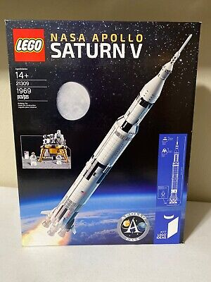LEGO 21309 NASA Apollo Saturn V Brand New FACTORY SEALED