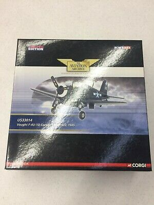 Corgi Aviation Archive Collector Series US33014 Vought F4U Corsair Diecast Model