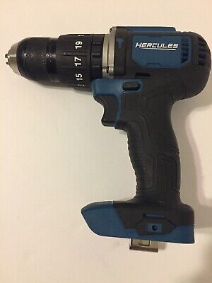 Hercules 20v Lithium 12 Hammer Drill Driver Hc92k1 Tool Only Works Great