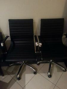 Black Office Chairs for sale Merrylands Parramatta Area Preview
