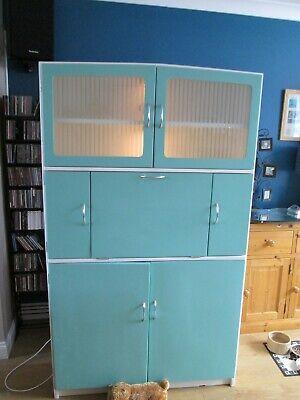 Hygena 1950s 1960s Retro Vintage Kitchen Cabinet