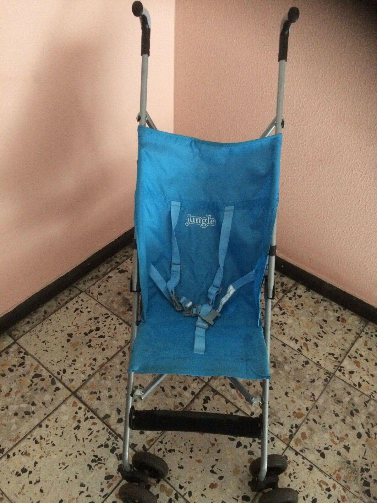 Reisebuggy leicht Buggy klappbar türkis sehr guter Zustand Kinderwagen Reise