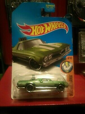 2017 Hot Wheels Car 333/365 '68 El Camino - P/Q/International Case
