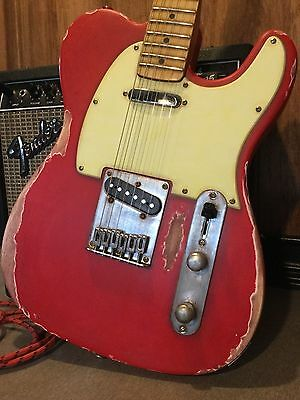 Relic Fender Squier Telecaster Electric Guitar Wilkinson Vintage Pickups Worn