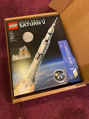 LEGO 21309 Ideas NASA Apollo Saturn V Rocket- Brand New Sealed Retired