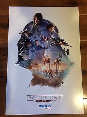 19x13 LARGE STAR WARS: ROGUE ONE 1 of 3 EXCLUSIVE AMC IMAX POSTER