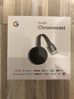 Google Chromecast 2017 Digital Hd Media Streaming Player Ga3a00093 A14 Z01