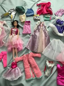 Doll and clothing
