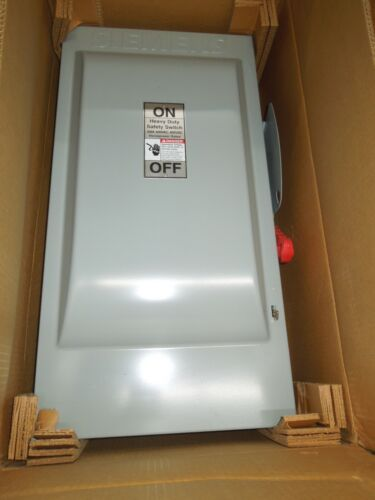 Siemens Hnf364 Heavy Duty Safety Switch Non-fused 200a 3p 600v Nema Type 1 New