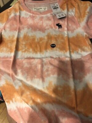 Abercrombie Kids Girls Tie-dyed T-Shirt Size 11/12